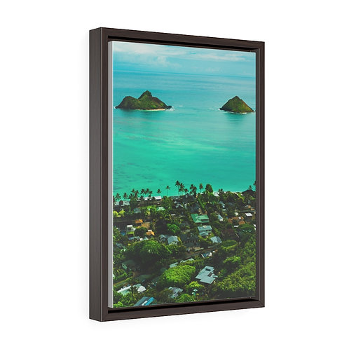 Oahu, Pill box views- Premium Gallery Wrap Canvas