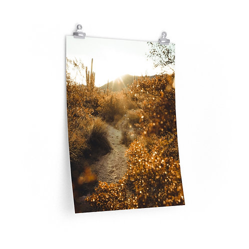 Warm Desert- Premium Matte vertical posters