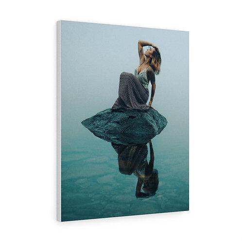 Foggy Lake Reflections- Canvas