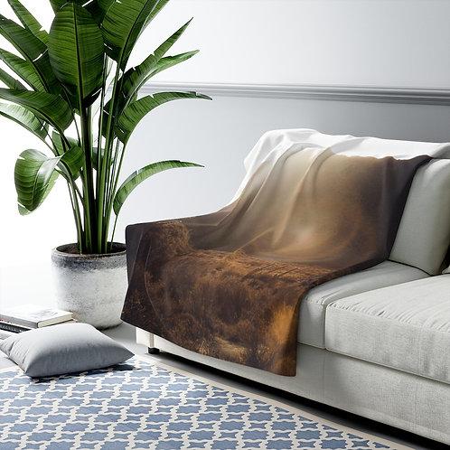 Arizona Desert- Sherpa Fleece Blanket