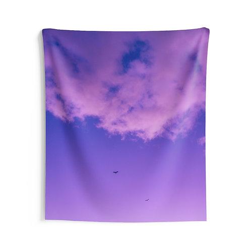 Purple rain- Indoor Wall Tapestry