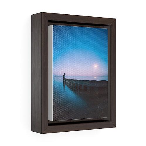 Full Moon on Lake Michigan- Premium Gallery Wrap Canvas
