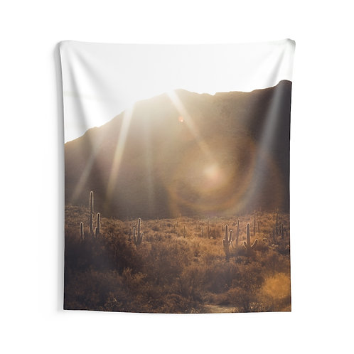 Arizona Desert- Indoor Wall Tapestry