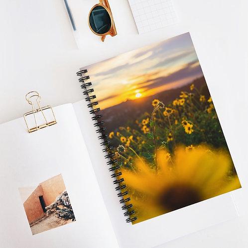 Floral LA- Spiral Notebook