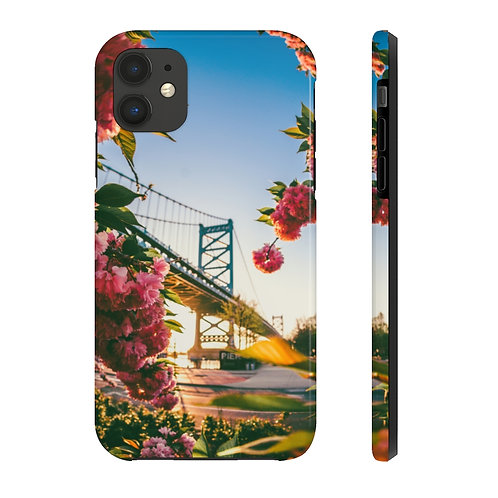 cherry blossom iphone- Case Mate Tough Phone Cases