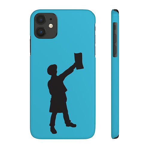 Paperboy logo- Slim iPhone Case