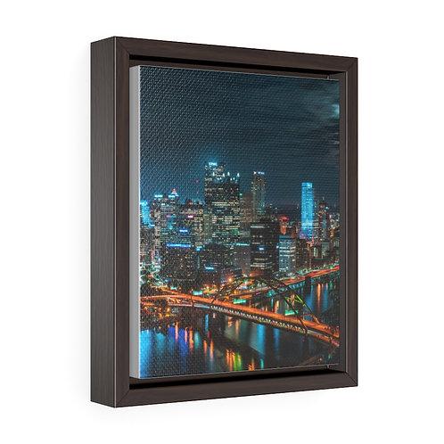 Steel City- Premium Gallery Wrap Canvas