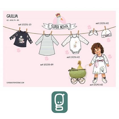 Patron couture Super Nova Giullia