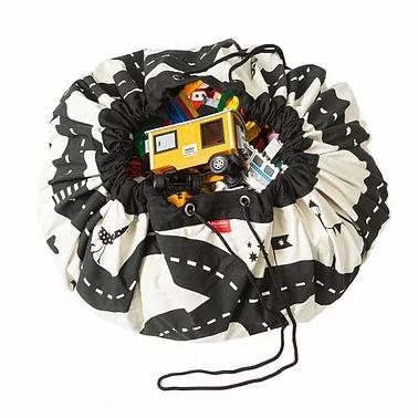 Sac rangement et Tapis de jeu Circuit voiture - Play & Go