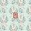Thumbnail: Coton imprimé faons fond menthe