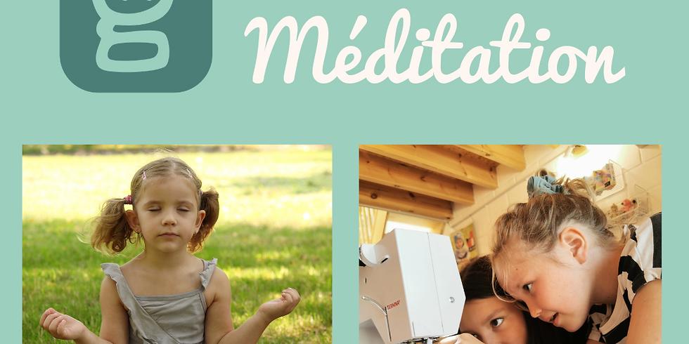 Mini-Stage 2 jours : Couture et Méditation