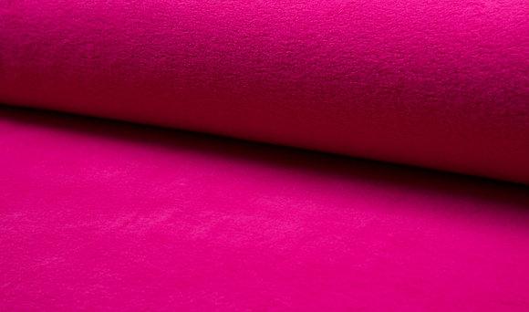 Polaire Coton - Cotton Fleece Fuschia