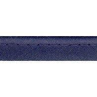 Passepoil tout textile bleu marine - 10 mm