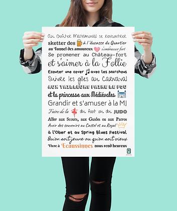 Affiche Ecaussinnes