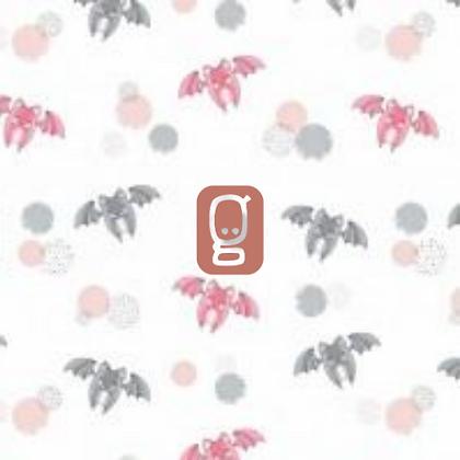 Coton imprimé chauve-souris