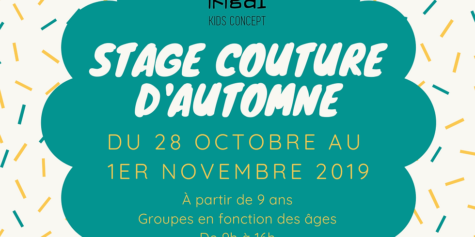 Stage Couture d'Automne