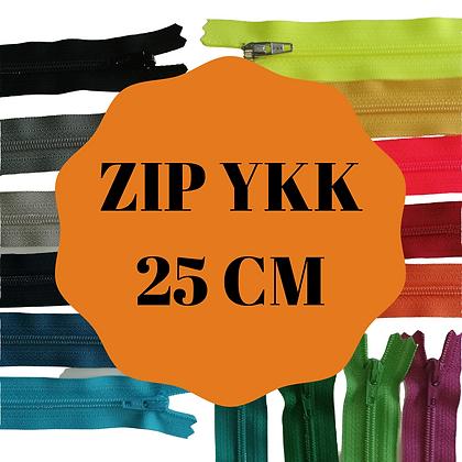 YKK tirette synthétique non séparable 25cm