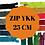 Thumbnail: YKK tirette synthétique non séparable 25cm