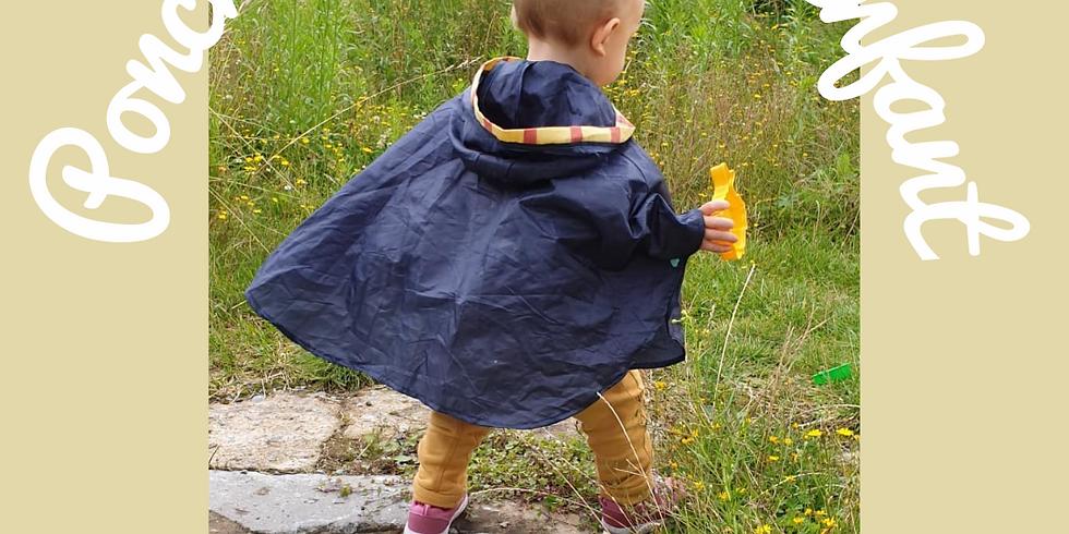 Atelier Couture : Le Poncho adulte ou enfant