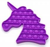 Pop It Fidget Toy Game - Unicorn - Licorne