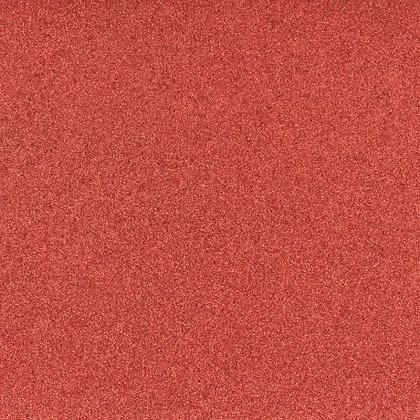 Coupon tissu pailleté rouge