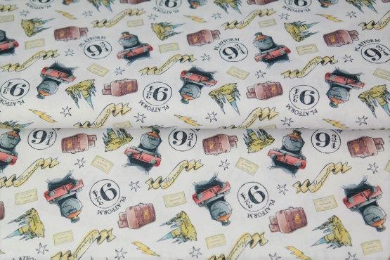 Tissu 100% Coton Harry Potter - Stenzo