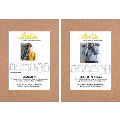 DUO Jasmin - Patron couture Ikatee