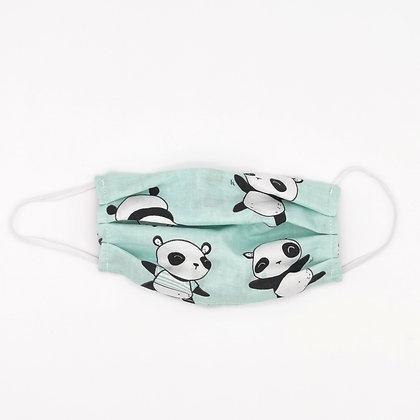 Masque barrière Panda Taille Unique