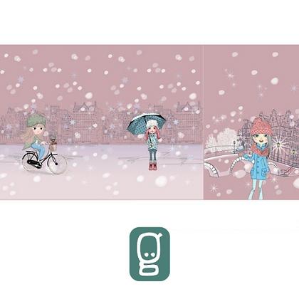 Panneau Jersey fillettes hiver 2
