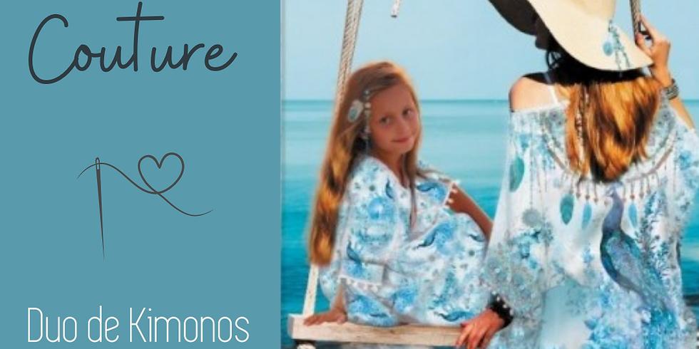 ATELIER COUTURE en DUO : Duo de Kimonos