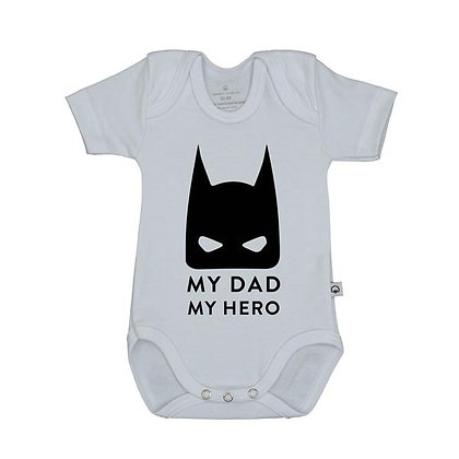 Body MY DAD MY HERO - Wooden Buttons