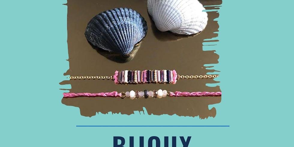 Réalisation d'un bracelet double rang en perles de verre