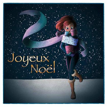 Carte Postale Joyeux Noël - Joyeuses fêtes