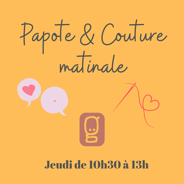 Papote & Couture matinale
