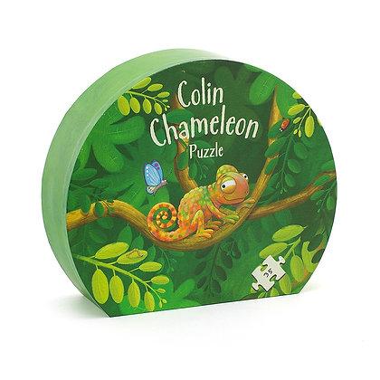 Puzzle Colin le Caméléon Jellycat -