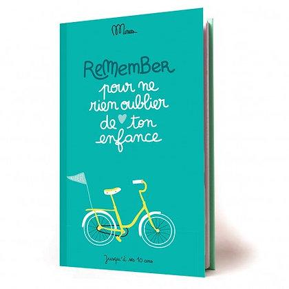 Pour ne rien oublier de ton enfance - Cahier de souvenirs--Minus Editions