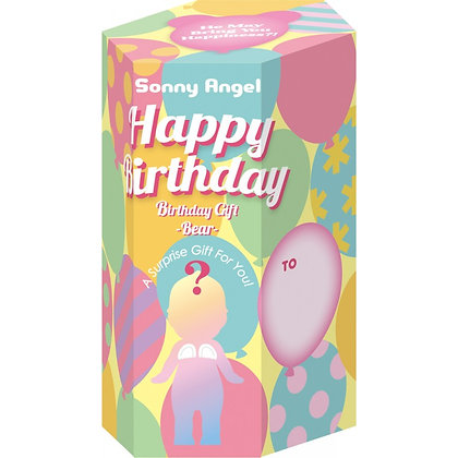 Ourson Sonny Angel Happy Birthday (1 pièce)
