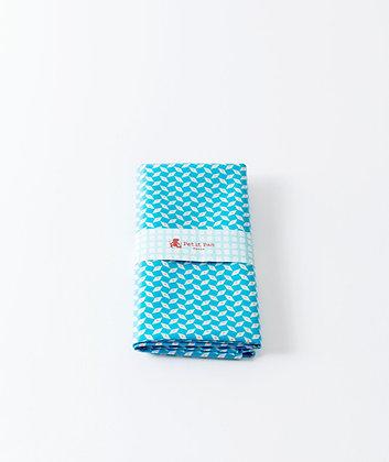 Coupon coton enduit Pépin bleu - Petit Pan