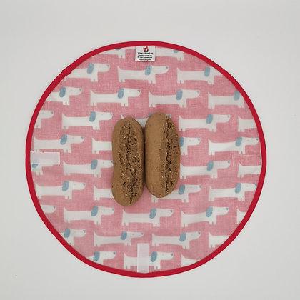 Pochette sandwich ronde