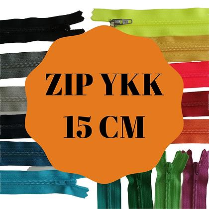 YKK tirette synthétique non séparable 15 cm