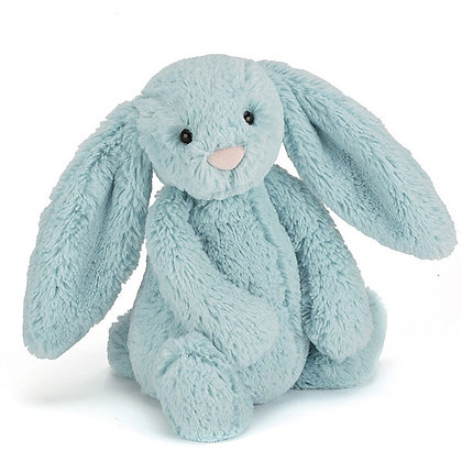 Jellycat - Bashful Aqua Bunny - small