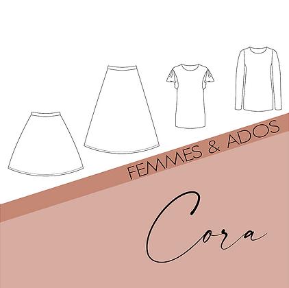 Modèle Cora -Patron couture Bel'Etoile - Femme