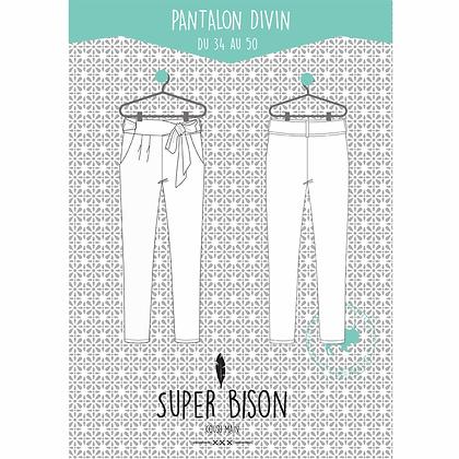 Patron Pantalon Divin - Super Bison