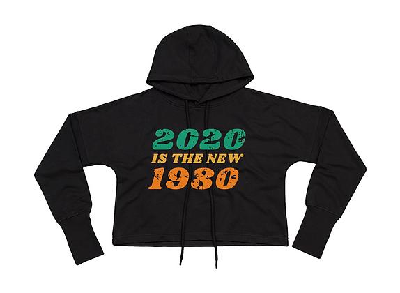 Cropped Hoodie noir 2020