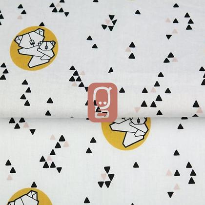 Popeline de coton imprimée motif koala