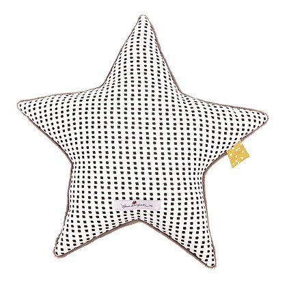 Coussin étoile - Graine de moutarde - Jeux d'enfants