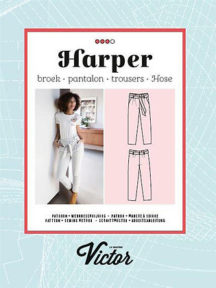 Patron Pantalon Harper - La Maison Victor