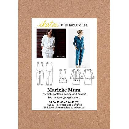 Marieke Mum - Patron couture Ikatee - Femme & Ado