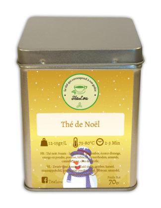 Thé de Noël - Tealou