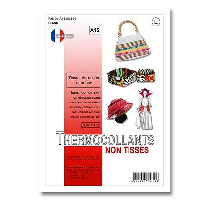 Thermocollant non tissé pour tissu lourd et hobby
